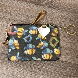Dooney & Bourke Bee Wristlet
